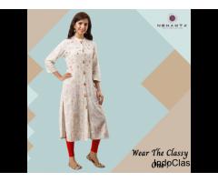 Buy designer straight kurta for women and girls at best price