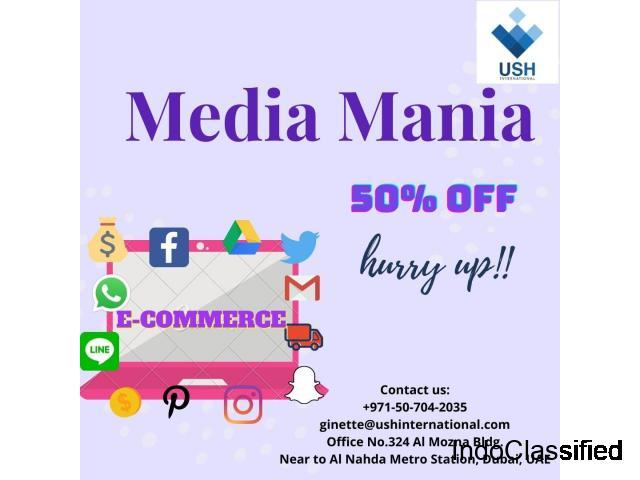 Sharjah Media City Media Mania Package