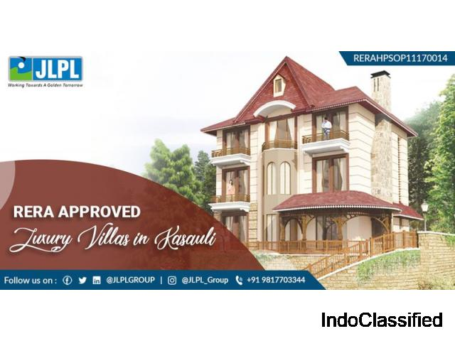 RERA Approved Independent Luxury Villas For Sale In Kasauli
