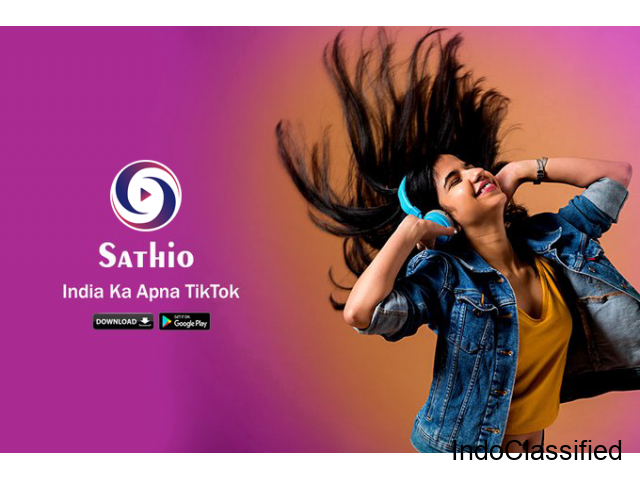 Sathio - Short Video Platform | India Ka TikTok