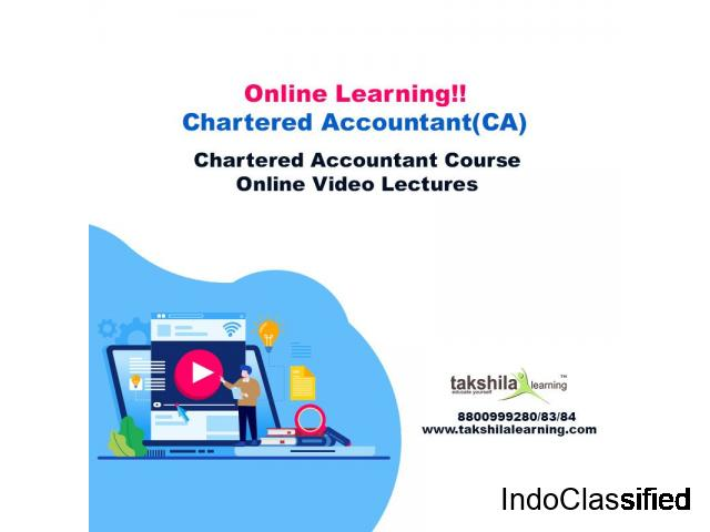 Best CA Online Classes & Chartered Accountant Course