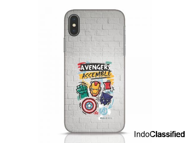 Buy Avengers Assemble (AVL) iPhone X Back Cover Online