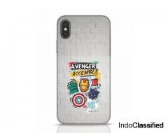 Buy Avengers Assemble (AVL) iPhone X Back Cover Online