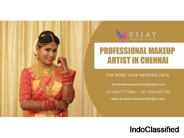 Best Wedding Makeup Artist in Chennai | Cine Makeup Artist in Chennai