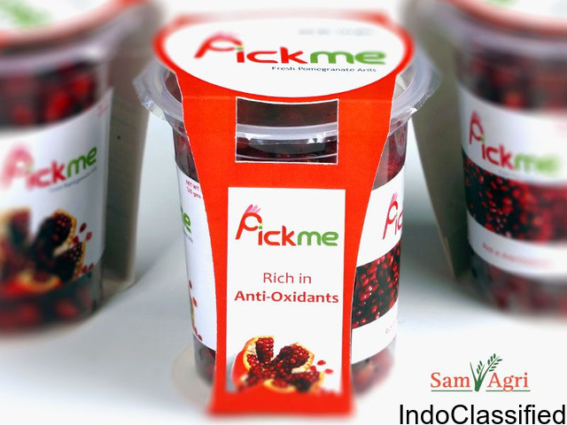 pomegranate arils exporters