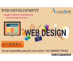 Best Web Designing & Development Company in Hyderabad-Acutesoft