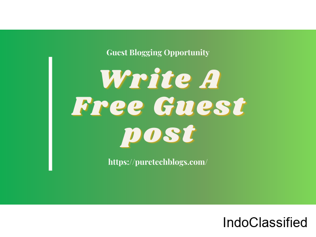 Technology Write for us | Free Guest Posting | Puretechblogs