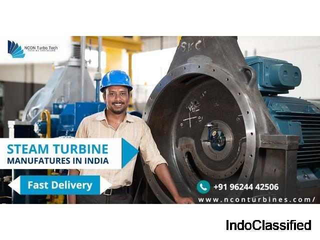 Low-Pressure Steam Turbine Manufacturers - nconturbines.com