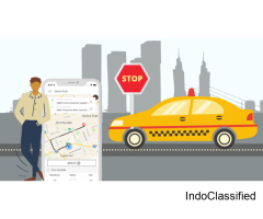 Taxi Booking App Development Services | PeppyOcean