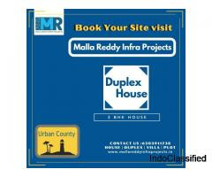 Duplex houses for sale in Kurnool | Malla Reddy Infra Projects
