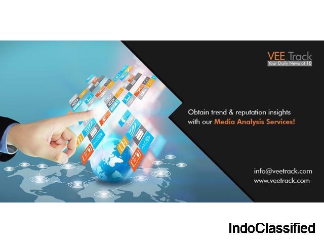 Media analytics services by Vee Track