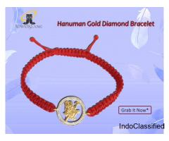Hanuman Gold Diamond Bracelet