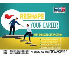 Professional Embedded Course Training Institute in  India