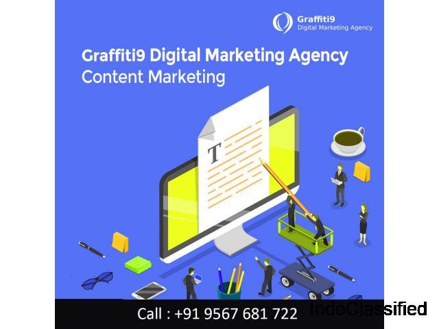 Graffiti9 Content Marketing Service