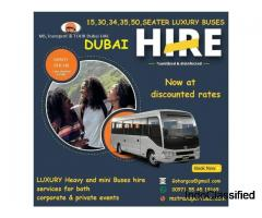 WE PROVIDE ALL TYPES OF PASSENGERS TRANSPORTATION IN UAE.