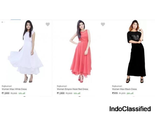 Shop Rajkumari Women Dresses Online at Flipkart