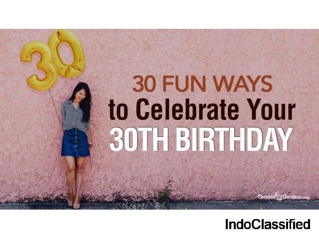 30 birthday ideas