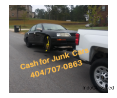 Sell Junk Car Atlanta