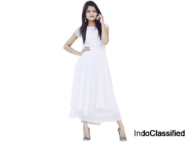 Shop Women Maxi Green Dress Online