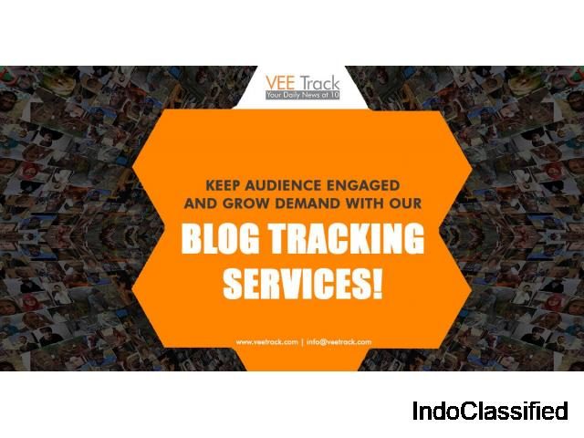 Keep Audience Engaged and Grow Demand with VeeTrack's Blog Tracking Services
