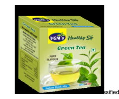Best Green Tea with Mint Flavour Extract in Coimbatore - VGM Health Care