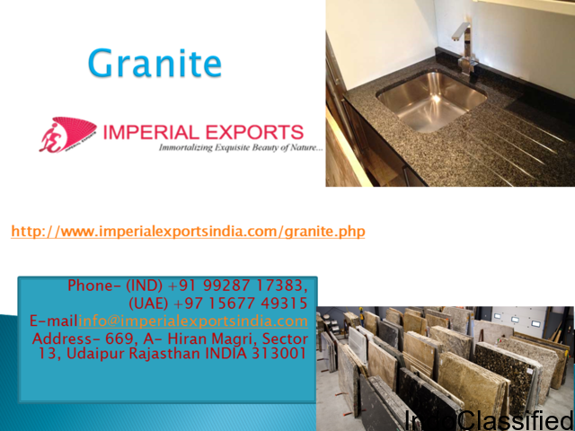 Granite supplier to UK, US and Russia