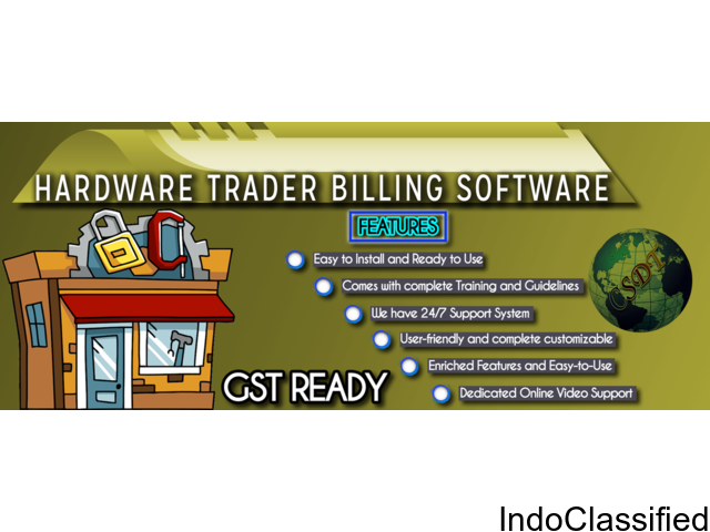 Best Hardware Traders Billing Software in patna
