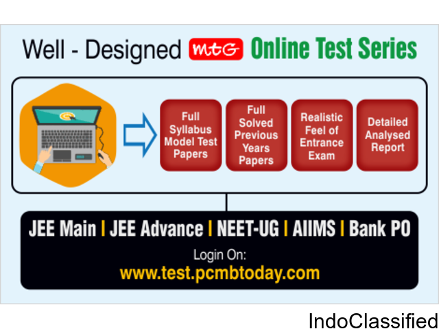 Online Test Series for NEET & JEE Competitive Entrance Exam