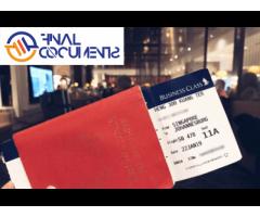 Beantragen Sie Einen Reisepass Online Bei Final Documents Company