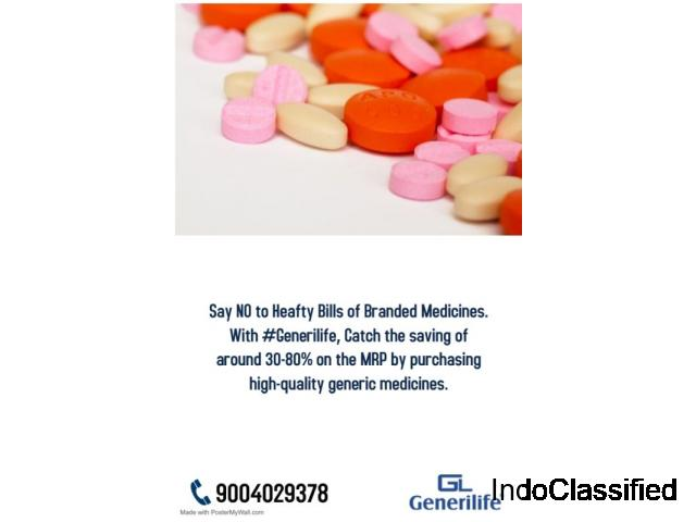 Buy Generic Medicine at Cheapest price from Generilife