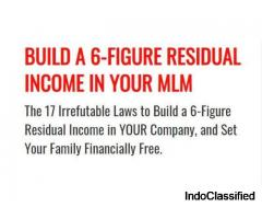 Build A 6-Figure Residual Income In Your MLM (FREE training!!)