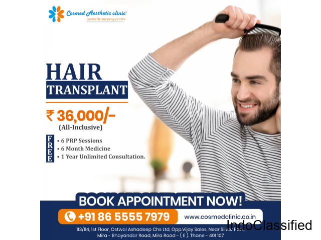 Hair Transplant Cost in Mumbai | Hair Transplant in Mumbai