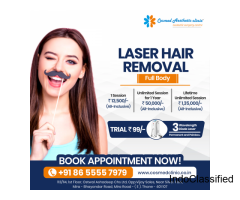 Laser Hair Removal in Mumbai at Cosmed Clinic, Mira Road | Laser Hair Removal Cost in Mumbai.