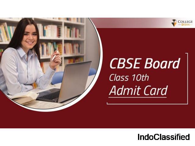CBSE Board Class 10th Admit Card 2021