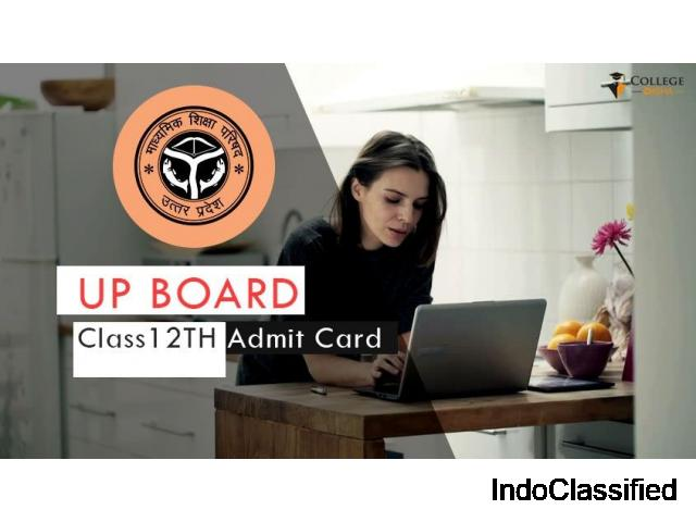 UP Board 12th Admit Card 2021 Declared | Download UP Board Class 12th Admit Card