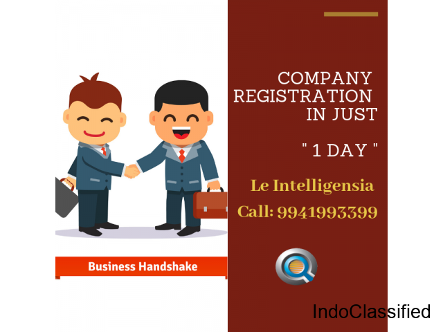 Private Limited Registration in Bangalore - Le Intelligensia IPR