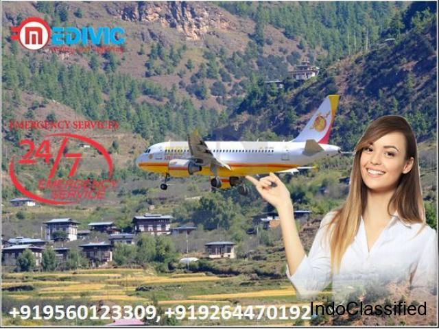 Pick Country Best Hi-Quality Air Ambulance in Vellore with ICU Setup