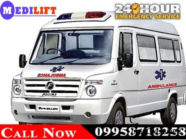 Avail Top-Class Emergency Ambulance Service in Mahendru by Medilift