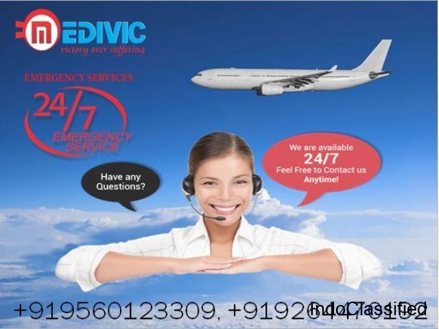 Book India No-1 Air Ambulance in Chennai with Medical Facility