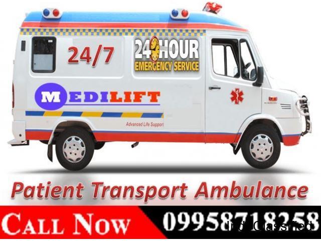 High-Quality Ambulance Service in Patel Nagar by Medilift