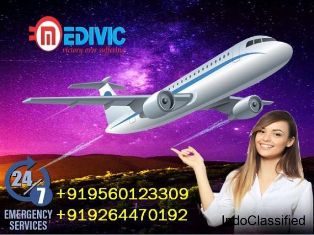 Pick Hi-Quality Air Ambulance in Bhopal with MBBS Doctor