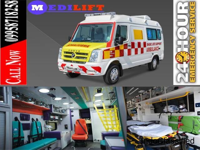 Reasonable Cost and Superior Ambulance Service in Kidwaipuri