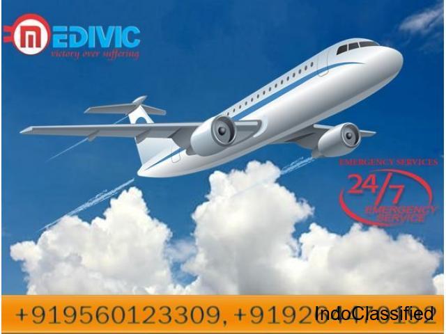 Utilize Splendid Air Ambulance in Hyderabad Full ICU Facility
