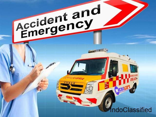 Life-Savior Medilift Ambulance Service in Gola Road in Patna