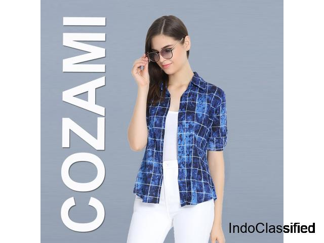 Buy the very best quality stylish shirts for Women-Cozami