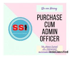 Purchase Cum Admin Officer