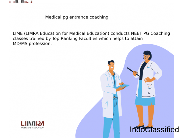 medical pg entrance coaching