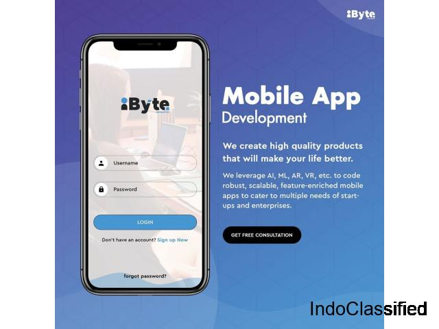 iByte Infomatics - Top Mobile App Development Company in India