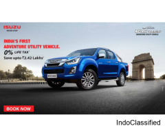Mahavir Isuzu v-cross price and specifications