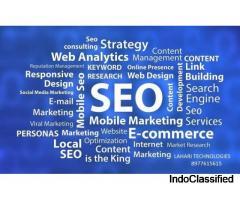 Lahari Technologies Providing Vibrant Web Designing Services